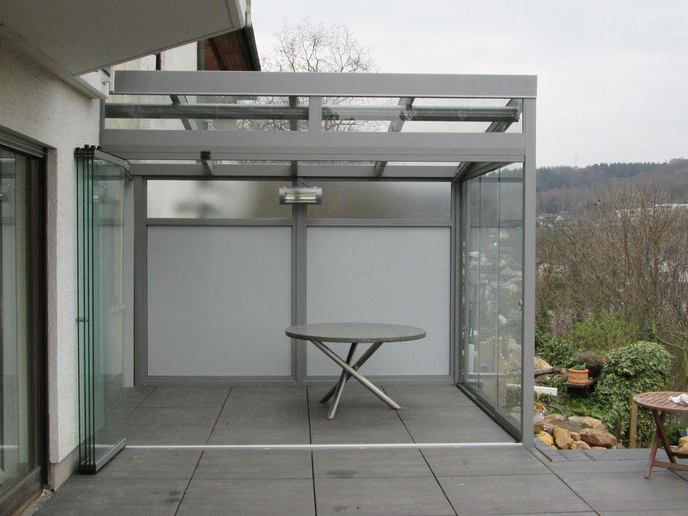 Alu terrassenbedachungen carports - Terrassen seitenwand ...